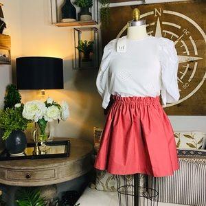 Zara women's white blouse XS NWT